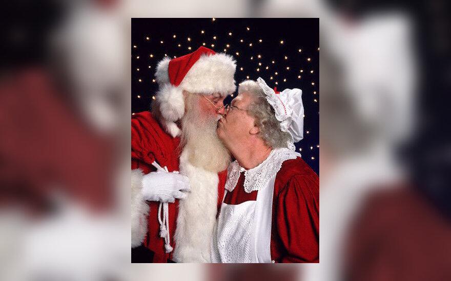 Kalėdų Senelių pora