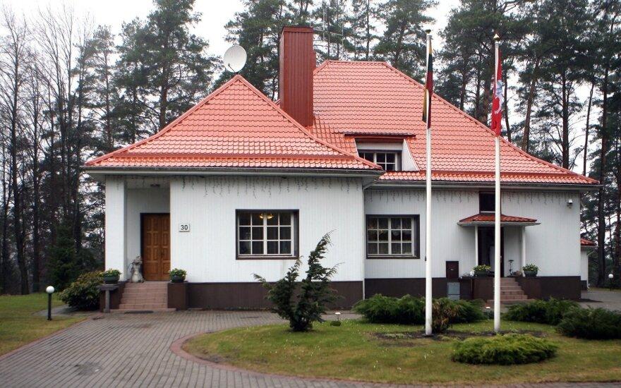Algirdo Brazausko rezidencija, Turniškės