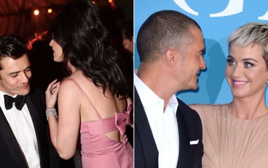 Orlando Bloom ir Katy Perry