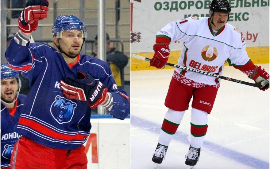 Anatolijus Protasenija, Aliaksandras Lukašenka / Foto: Twitter, TASS-Scanpix