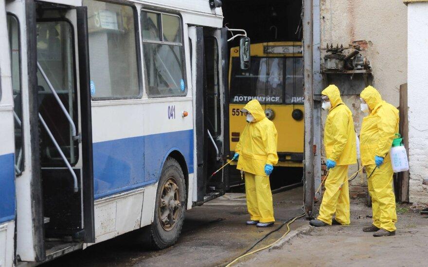 Ukrainoje – pirmasis koronaviruso atvejis