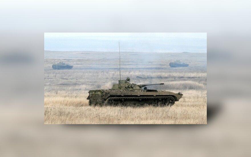 Rusija pasiryžusi aprūpinti technika Afganistano armiją ir policiją