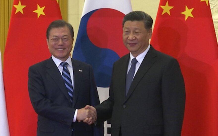 Moon Jae-inas ir Xi Jinpingas