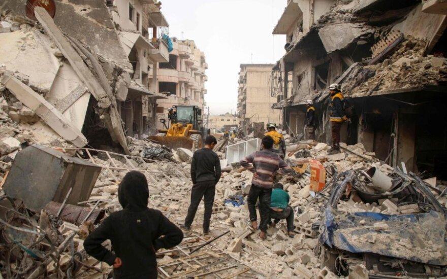 SOHR: Sirijoje per Rusijos antskrydžius žuvo 15 civilių