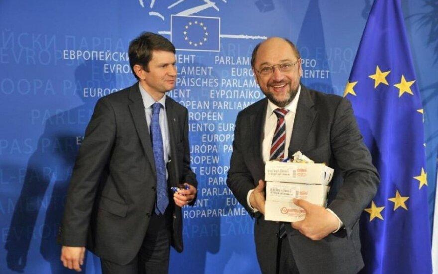 M. Schulzas paragavo lietuviškų sūrelių