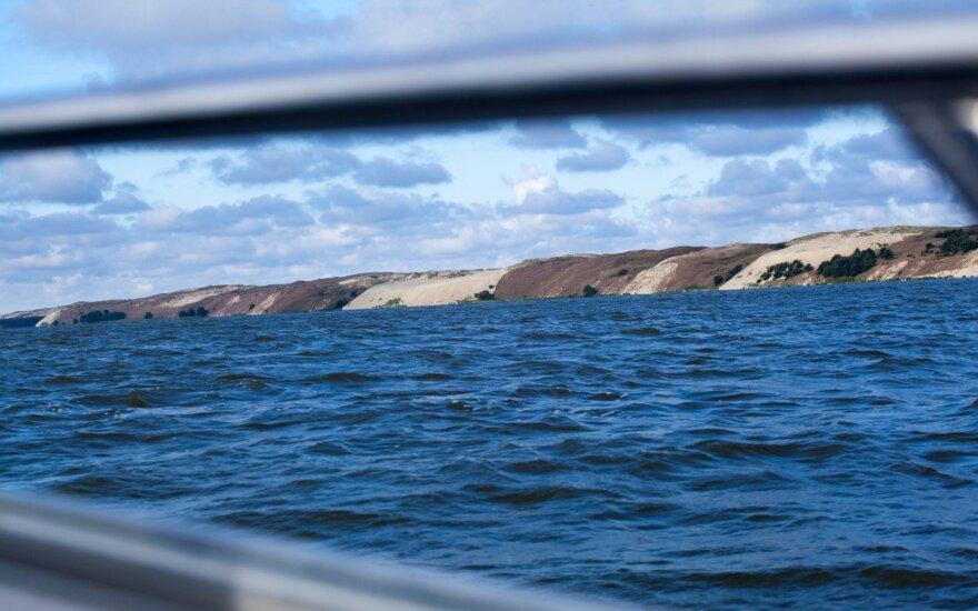 VSAT: į Lietuvos vandenis buvo įplaukęs Rusijos pasieniečių laivas
