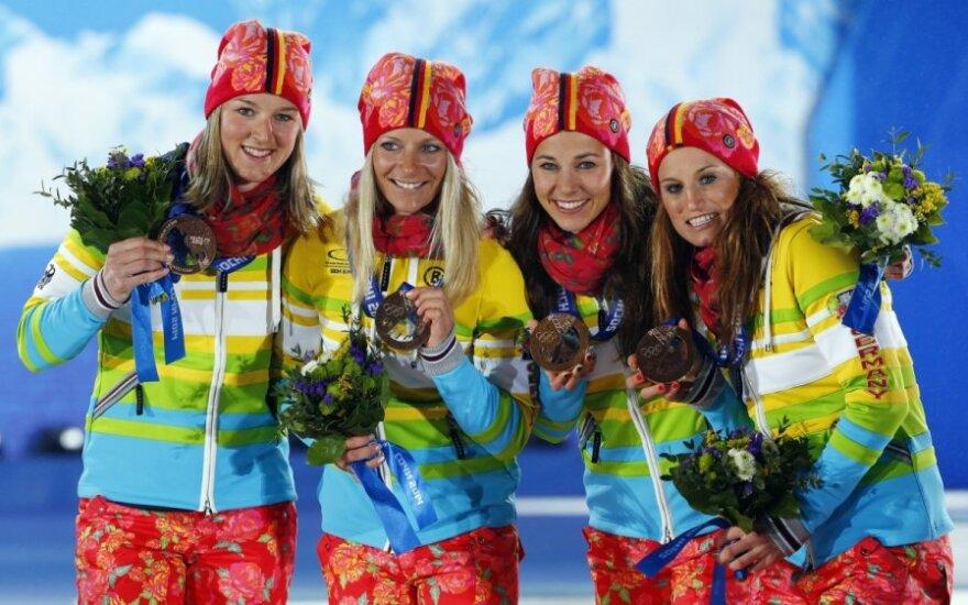 Vokietijos olimpietės