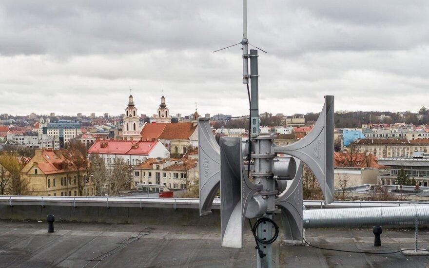 Ugniagesiai savivaldybėms perduos apie 40 mobilių sirenų