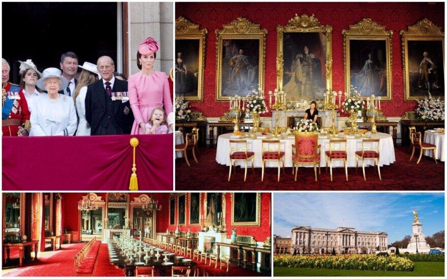 Bakingemo rūmai ir karališkoji šeima