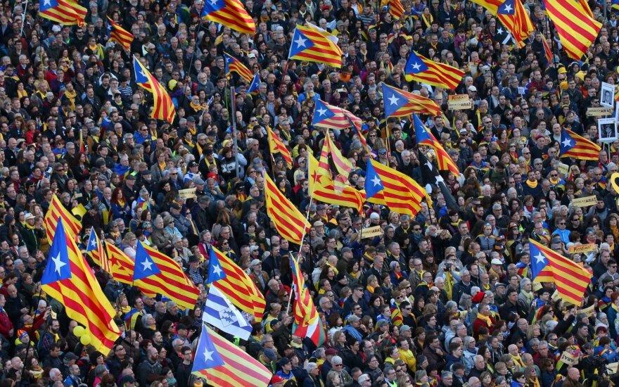 Katalonijos parlamentas balsuos dėl naujo regiono vadovo paskyrimo
