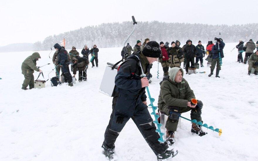 """Žiemos žūklės šventė """"Mindūnai 2013"""""""