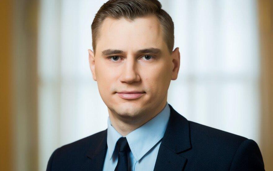 Lietuvos banko ekonomistas Linas Mickus