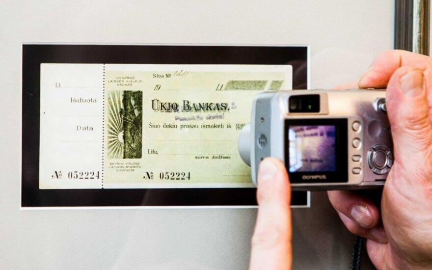 Lietuvos bankas: 2012-ųjų pabaigoje samdėme teisininkus Ūkio banko analizei