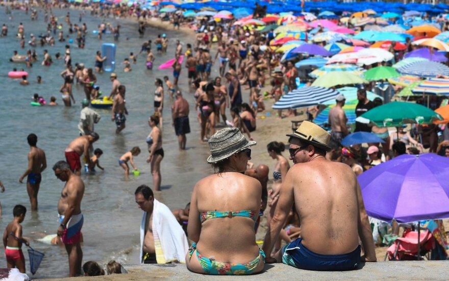 Į Europą atkeliauja nauja karščio banga: kai kur temperatūra pakils ir iki 40 laipsnių