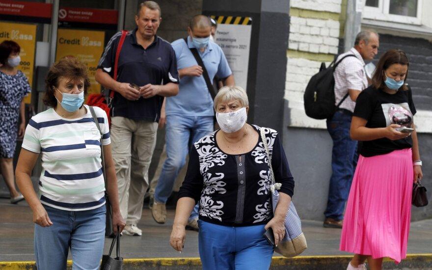 Ukrainoje per parą nustatyti 1 158 COVID-19 atvejai, 29 žmonės mirė