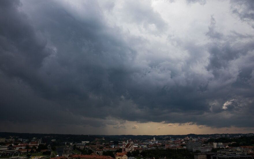 Lithuania in for cool weekend with showers
