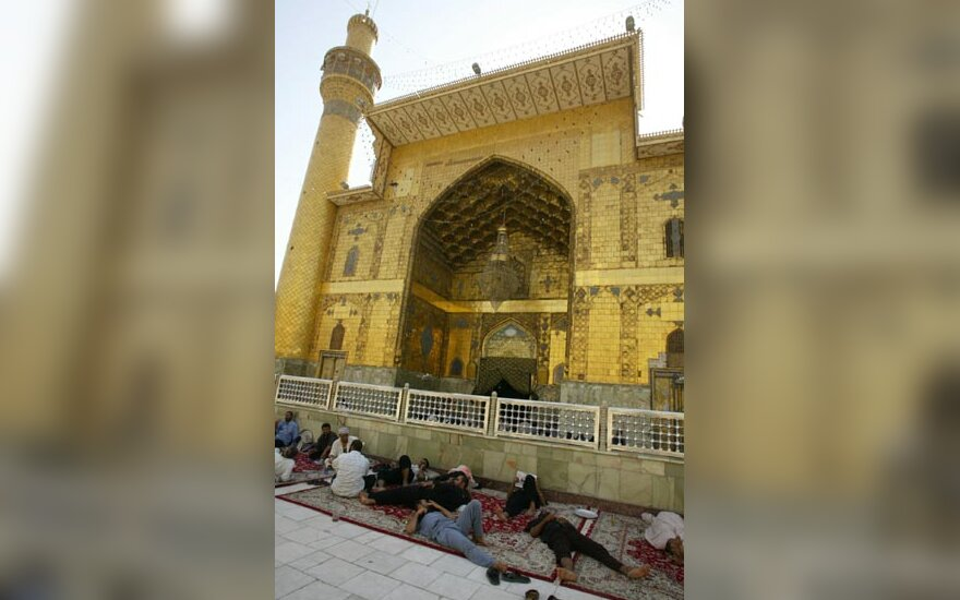 Irakas, Nedžefas, imamo Ali mečetė