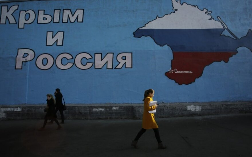 Lithuanian Foreign Ministry states support to Ukraine's sovereignty one year after Crimea disturbances