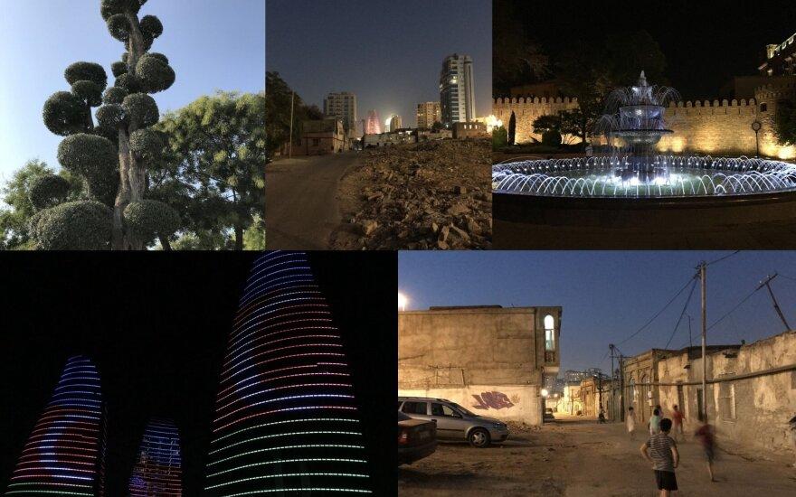 Viešnagė Baku sukėlė dvejopus jausmus: miestas vis labiau primena Vakarus, bet vietinių mentalitetas nesikeičia
