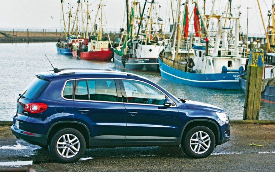 """Praktiškas, greitas, socialiai priimtinas – taip trumpai galima apibūdinti """"VW Tiguan"""""""