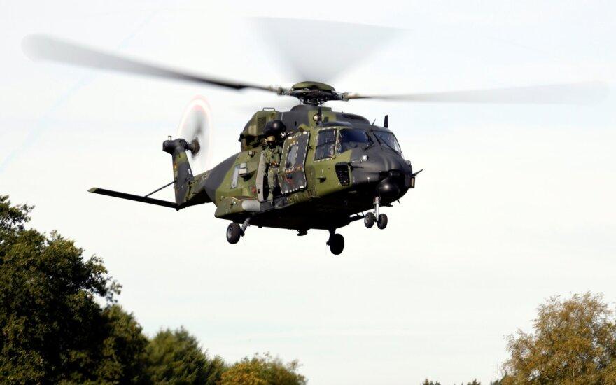"""""""Bild"""": tik 20 iš 152 Bundesvero sraigtasparnių parengti skrydžiams"""
