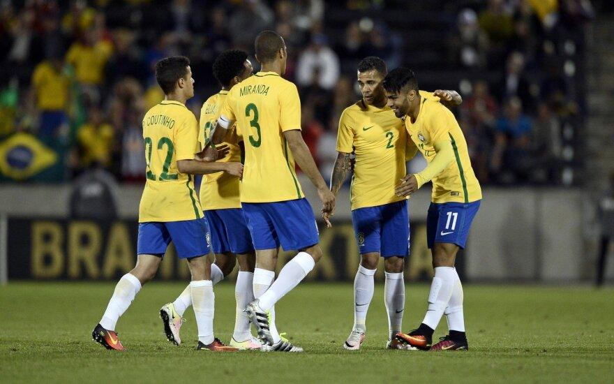 Brazilijos futbolo rinktinė