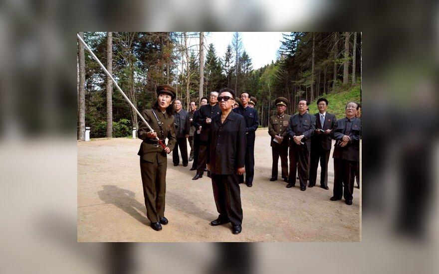 """Šiaurės Korėjos ekonomika išaugo """"dėl gero oro"""""""