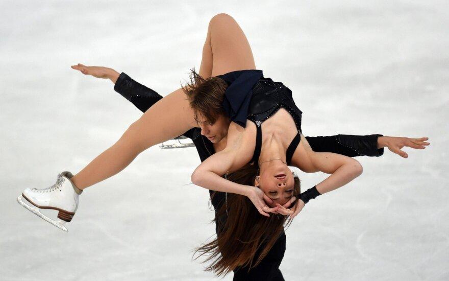 Karjeros rezultatą užfiksavę Reed ir Ambrulevičius pasipuošė sidabro medaliais