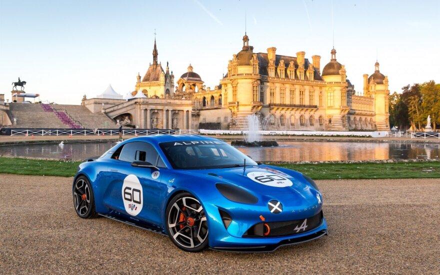 """Spėjama, kad naujojo """"Alpine"""" prototipas yra """"Celebration"""" modelis"""