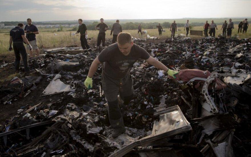 """Virš Ukrainos numušto keleivinio """"Boeing"""" paslaptis: kieno buvo įsakymas?"""