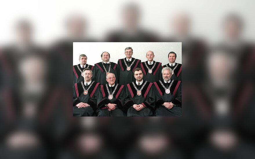 LR Konstitucinio teismo teisėjai