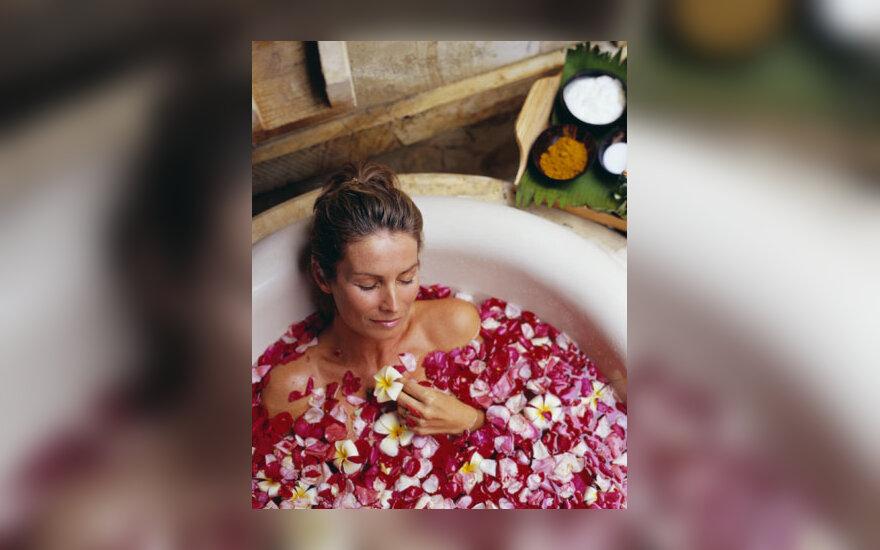 Grožio priežiūra, vonia, aromaterapija