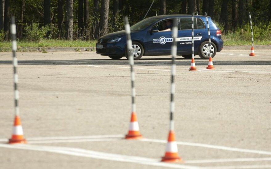 Viešosios vairavimo įgūdžių tobulinimo aikštelės atidarymas, Regitra
