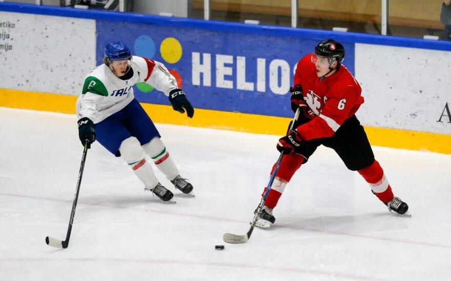 Pasaulio jaunimo ledo ritulio čempionatas: Lietuva - Italija (Foto: Andrey Basevich)