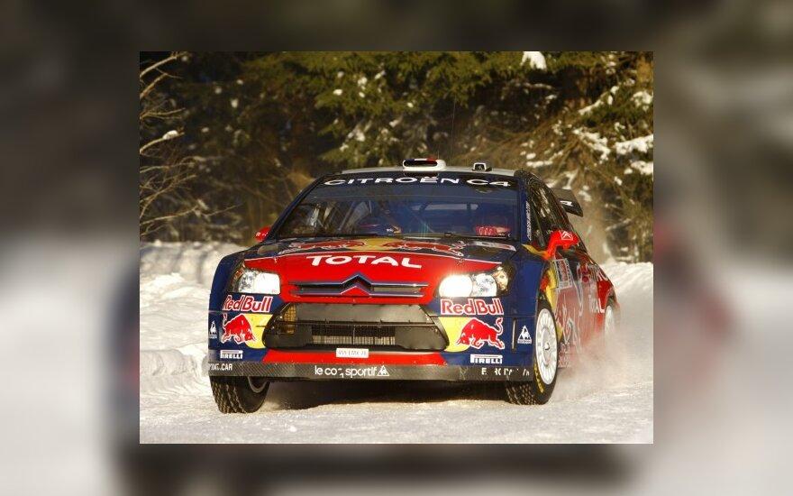WRC: S.Loebas toliau pirmauja Norvegijoje
