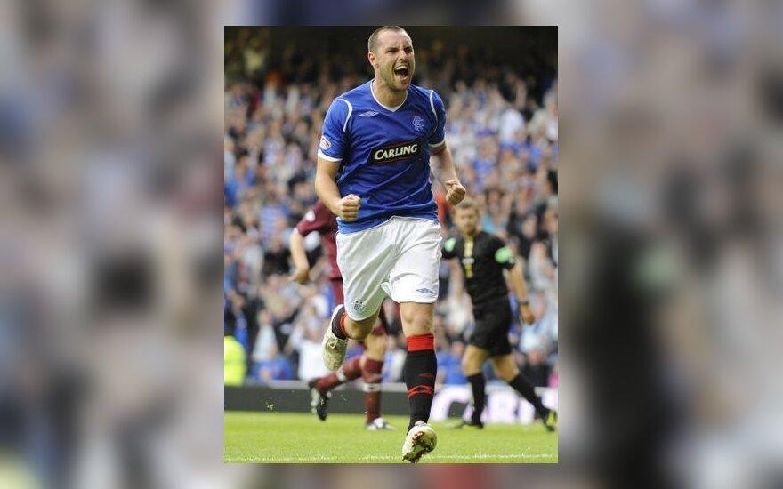 """""""Rangers"""" su A.Velička ir """"Celtic"""" šventė pergales Škotijos čempionate"""