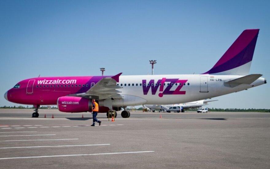 """""""Wizz Air"""" smarkiai sumažins skrydžių iš Lietuvos"""
