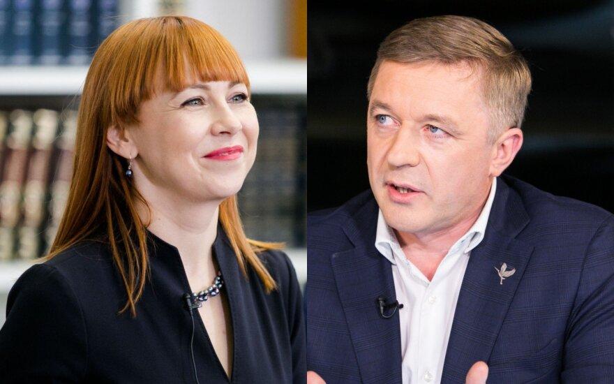 Jurgita Petrauskienė, Ramūnas Karbauskis