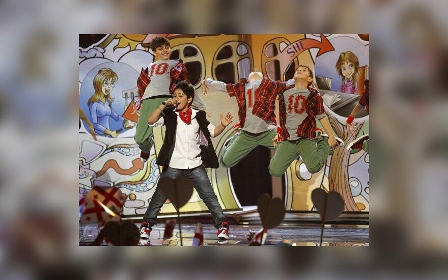 """""""Vaikų Euroviziją"""" laimėjo Armėnija, Lietuva - šešta"""