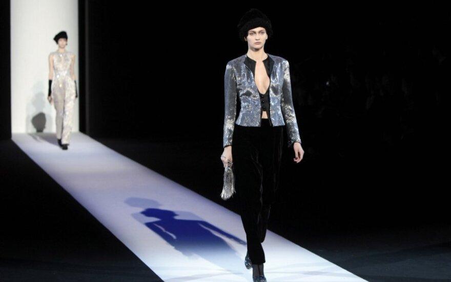 Giorgio Armani: elegantiška ir seksualu