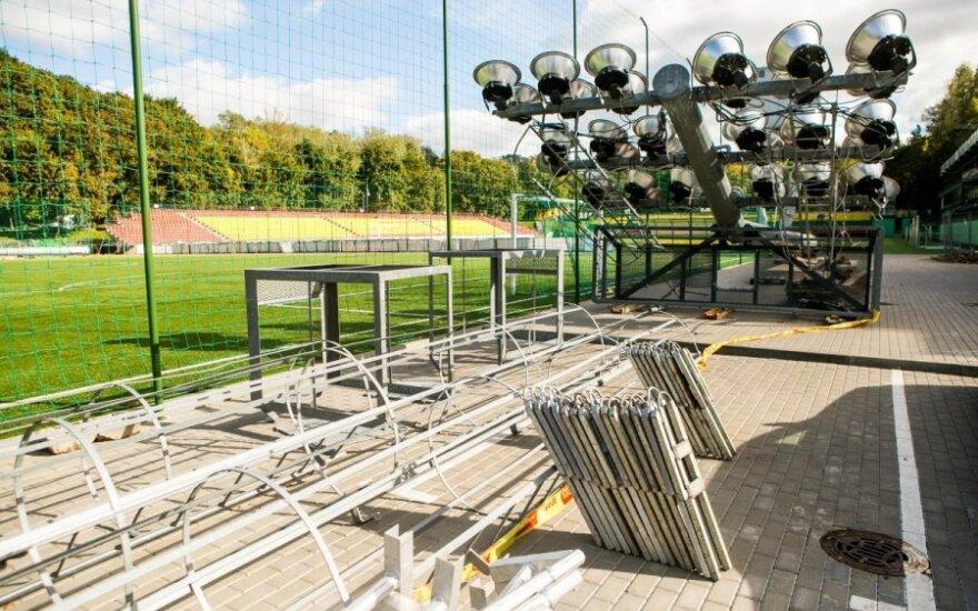 LFF stadiono apšvietimas