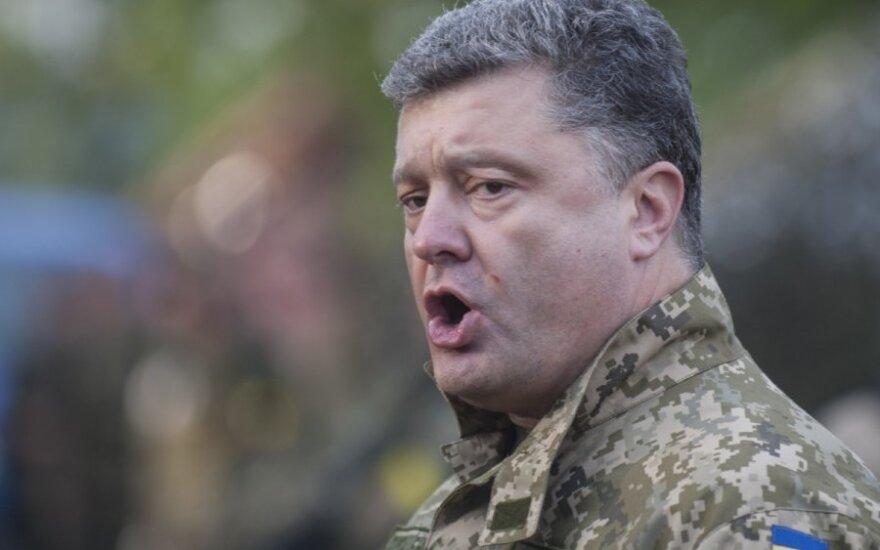 Ukrainos prezidentas: karas nėra priežastis atidėliojimui