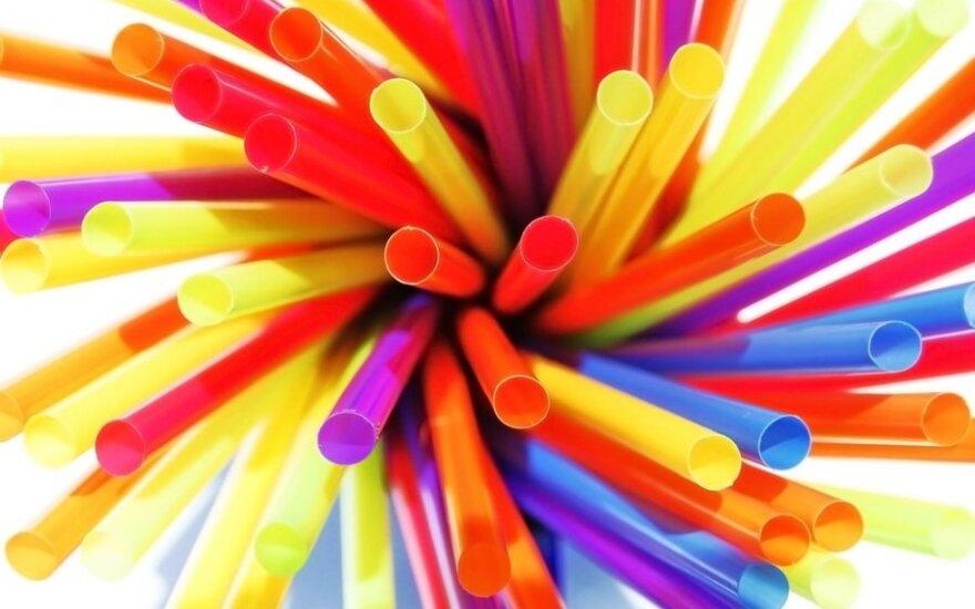 ES šalys pritarė dalies vienkartinių plastikinių gaminių draudimui