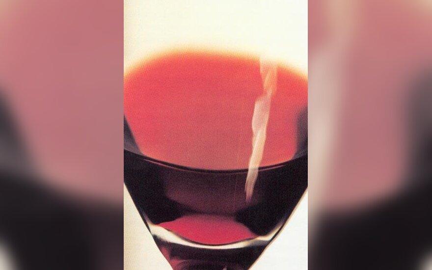 Jaunas Cabernet Sauvignon veislės vynas