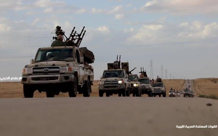 Khalifa Haftaro pajėgos Libijoje