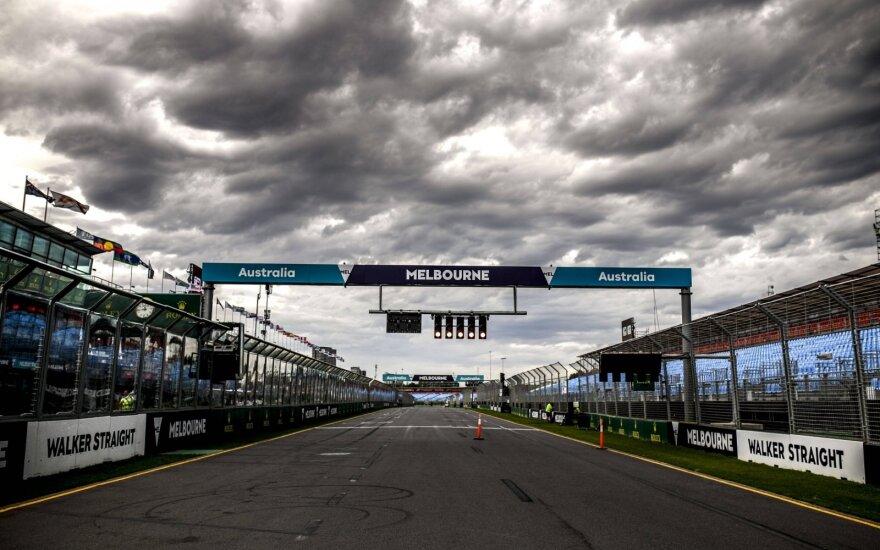 """Formulės 1"" lenktynės Melburne"