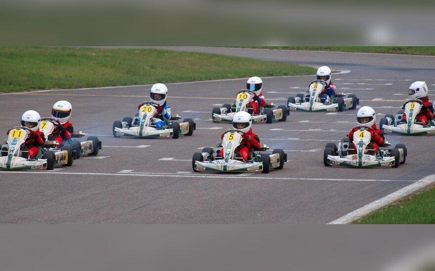 "Kartingo BMW ""Formulės Mini"" taurės lenktynės"