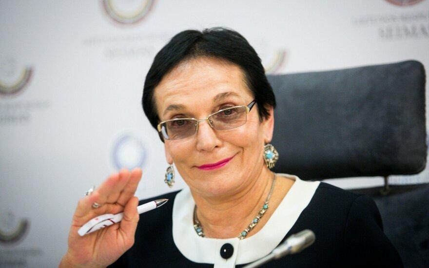 Vilniuje M. A. Pavilionienė sukėlė avariją: ačiū už rūpestį, esu kalta