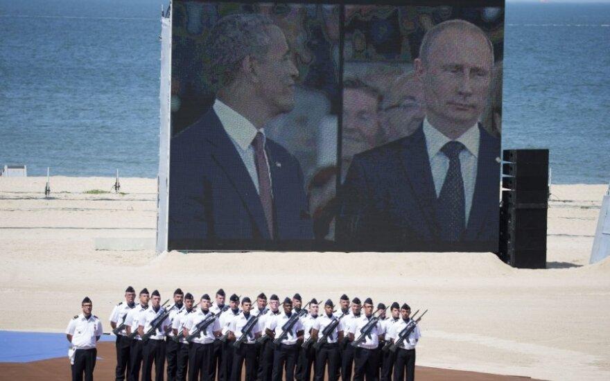 Rusija: JAV meluoja akivaizdžius dalykus