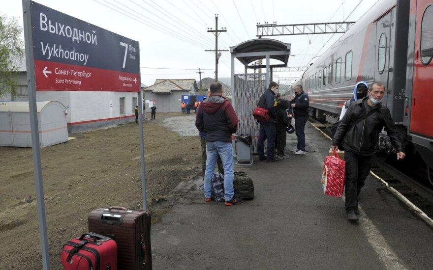 Geležinkelio stotelė Rusijoje